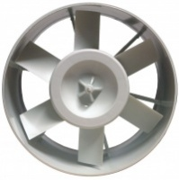 "Intake Fan Vents 5"" 245 m<sup>3</sup>/hr"