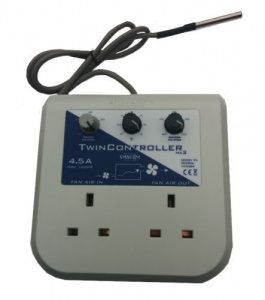 SMS COM Twin MK2(for 2 fans, max 4.5 amp)