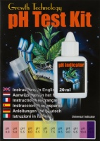 Growth Technology Liquid pH Test Kit